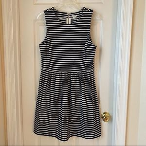 J.Crew Striped Daybreak Dress